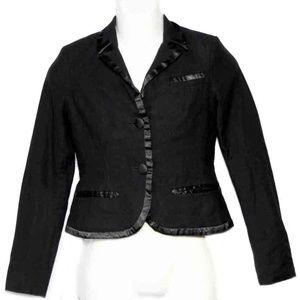 Marc Jacobs Tuxedo Style Jacket Black Size 8